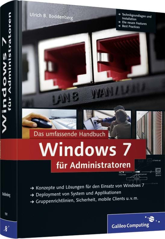 Windows 7 für Administratoren (Galileo Computing, 2009)